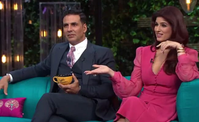 This Old Video Of Twinkle Khanna And Akshay Kumar From Karan Johar's Koffee With Karan Will Leave You In Splits