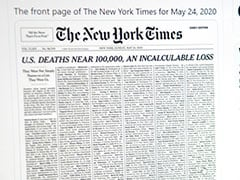 <i>New York Times</i> Marks Grim US Virus Milestone With Front Page Victim List