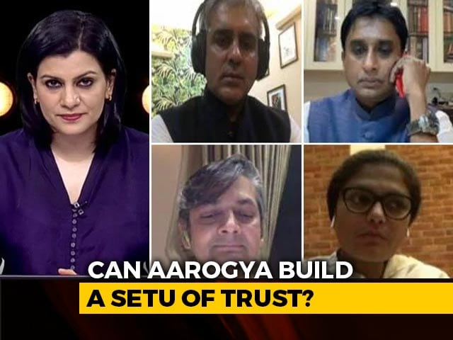 Video : Aarogya Setu App: Opposition Raises Privacy Concerns