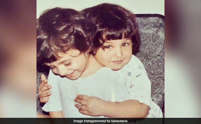 Tara Sutaria's Throwback Pic With 'The Needier Twin' Pia Sutaria Is Just Too Cute