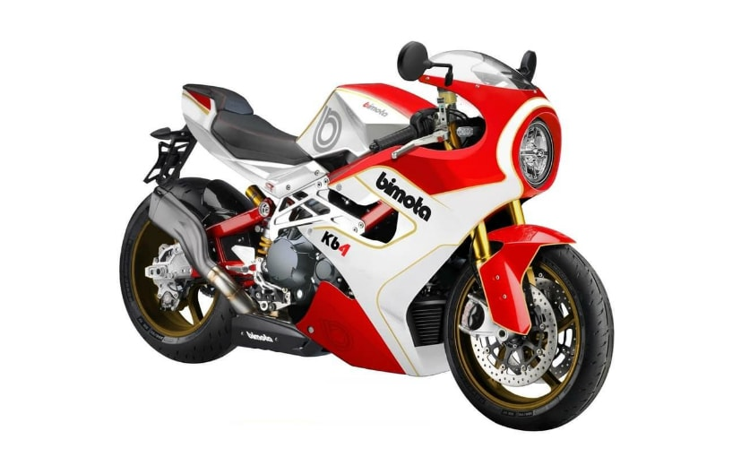 The Bimota KB4 will be based on the Kawasaki Z1000