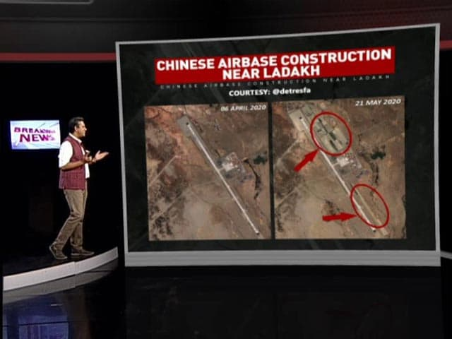 Video : NDTV Exclusive: China Expands Airbase Near Ladakh, Fighter Jets On Tarmac