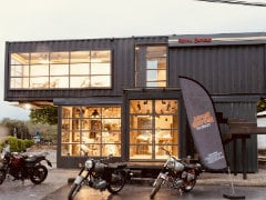Royal Enfield Opens Unique Movable Dealership In Thailand