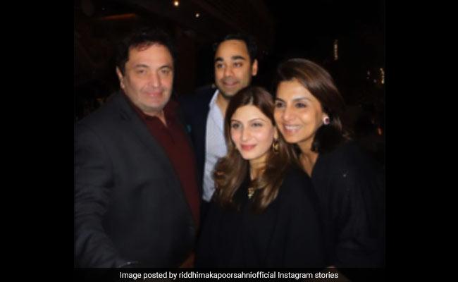Riddhima Shares 'Beautiful Memories' With Rishi, Neetu Kapoor And Bharat Sahni. Circa 2010