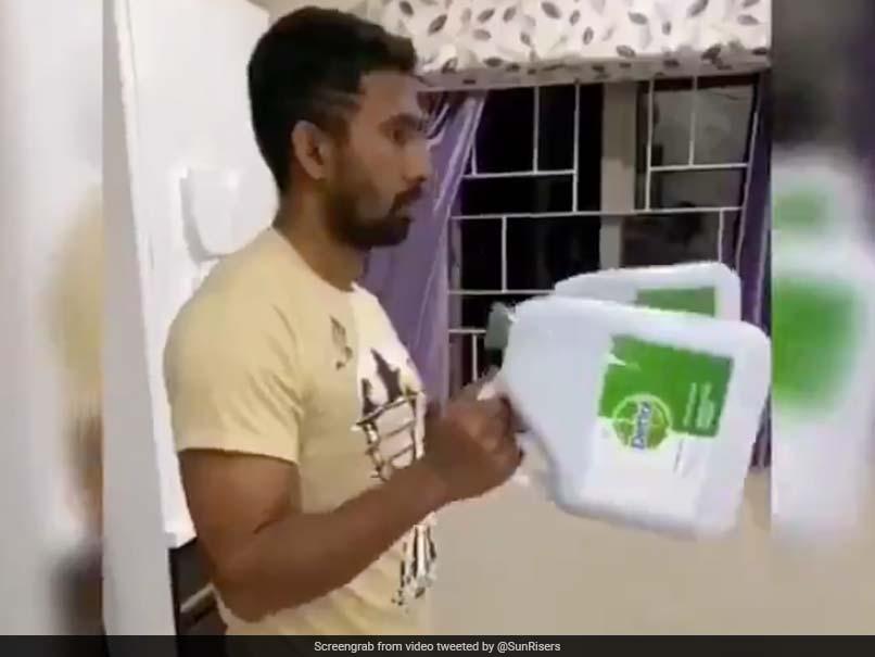 """Superman Saha"": SunRisers Hyderabad Share Wriddhiman Sahas Fun Quarantine At Home Routine"