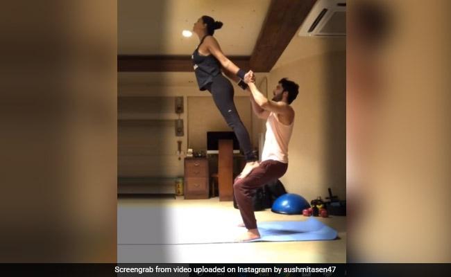Sushmita Sen's Post Sums Up Her 'Balanced' Relationship With Boyfriend Rohman Shawl