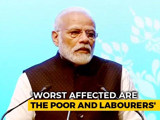 "Video : ""Poor, Labourers Hit Hardest"" By Coronavirus: PM Modi On Mann Ki Baat"