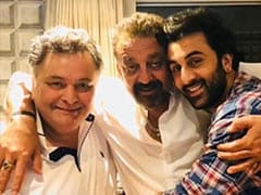 """The """"One Thing"""" Rishi Kapoor Taught Sanjay Dutt - Read His Post"""