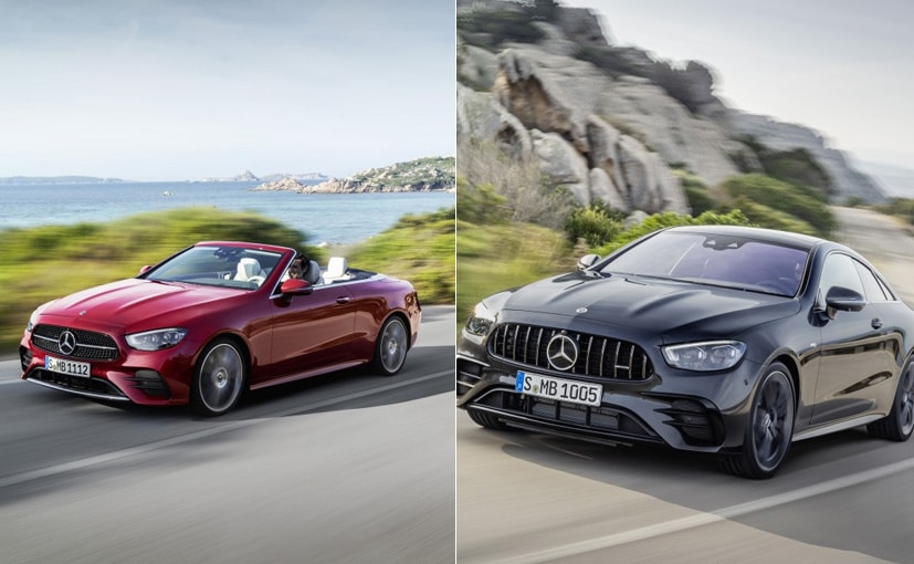 2021 Mercedes-Benz E-Class Coupe And Cabriolet Break Cover