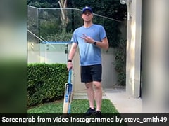 """Watch: Steve Smith Shares """"Batting Tips"""" With Fans"""