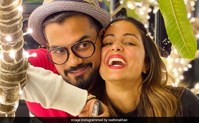 Trending Hina Khan Meets Boyfriend Rocky Jaiswal After Ages Shares Pic Hina khan boyfriends / husband: hina khan meets boyfriend rocky jaiswal