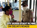 Video : Buses Back On Delhi Roads, Volunteers Ensure Social Distancing