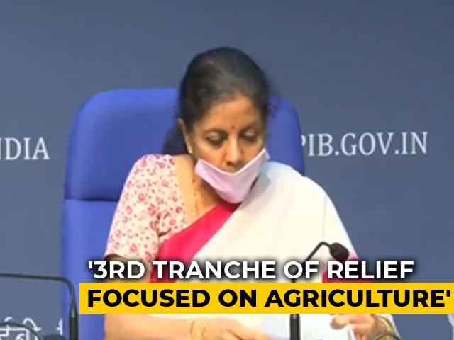 Video : Nirmala Sitharaman Announces Stimulus For Agriculture, Allied Activities