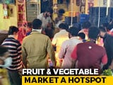 Video : Chennai's Biggest Vegetable Market New Virus Worry, Over 500 Test Positive