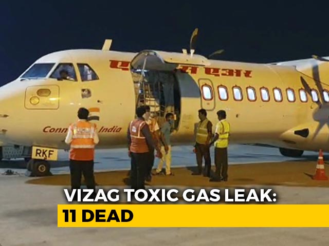 Video : After Gas Leak Kills 11, Chemical Plant Faces Probe Over Possible Lapses