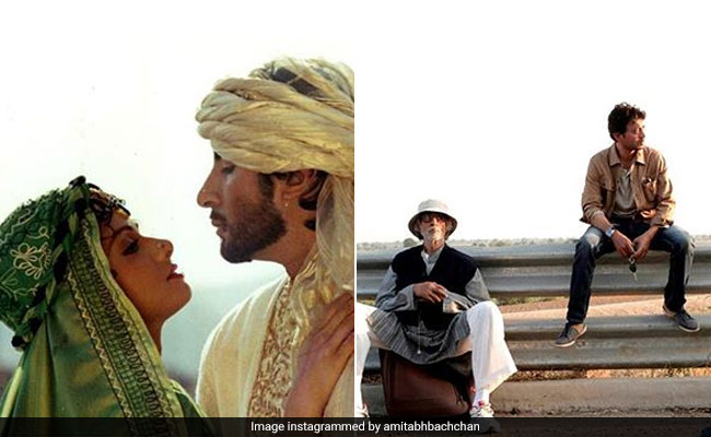 Amitabh Bachchan Remembers Sridevi And Irrfan Khan In A Throwback Post
