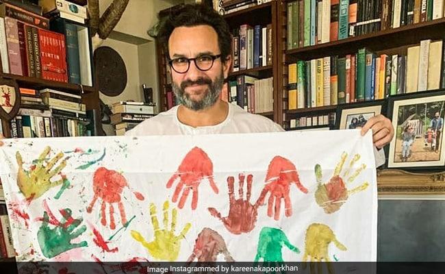 How Taimur, Kareena And Saif Ali Khan 'Imprinted' Their Quarantine Memories 'For Life'