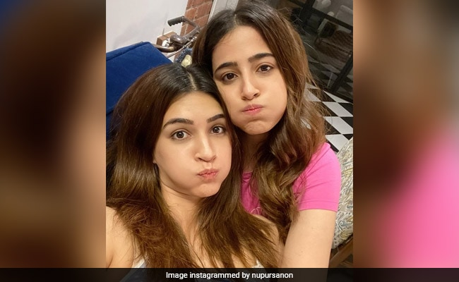 Pics From Kriti And Nupur Sanon's 'Squishy Quarantine' Are Too Cute To Miss