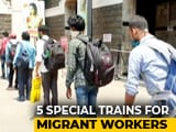 Video : Kerala Gives Food To Migrant Workers, They Pay For Train Ride Home