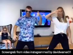 """David Warner Dances To Mahesh Babu's Song Again, Admits Wife """"Candice Kills Me"""" With Moves. Watch"""