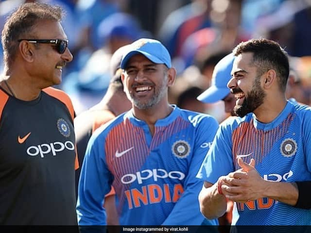 Ravi Shastri Turns 58, Virat Kohli Leads Birthday Wishes On Twitter