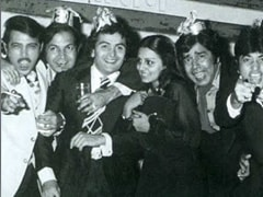 How Rishi Kapoor Liked To Party With Friends, In A Few Pics By Ekta Kapoor