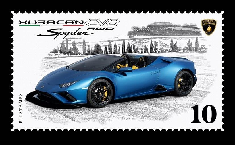 Lamborghini Launches Huracan EVO RWD Spyder Collector's Digital Stamp
