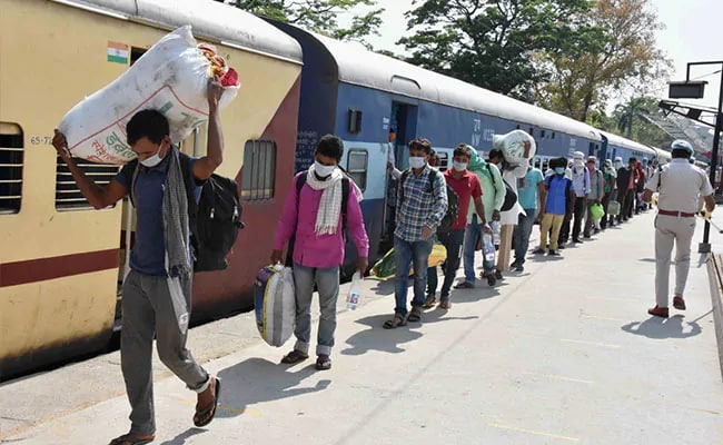 3,060 Special Trains Ferried Around 40 Lakh Migrants Since May 1: Railways