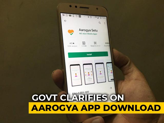 Video : Aarogya Setu App Must For All Private, Government Employees: Centre