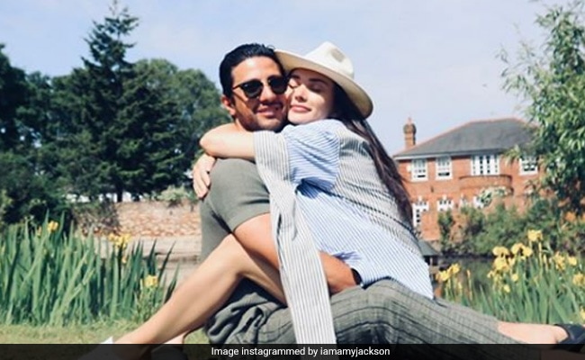 Amy Jackson And Fiance George Panayiotou Jam Insta Traffic With Loved-Up Pics