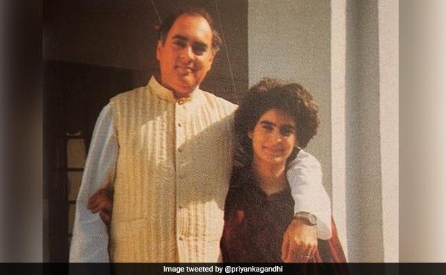 Rajiv Gandhi Death Anniversary: Priyanka Gandhi Tweets 'Last Photo' In Tribute To Father Rajiv Gandhi