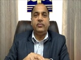 Video : Great Damage Caused To Tourism Industry: Himachal Chief Minister
