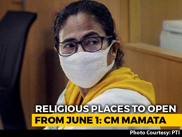 Places Of Worship To Open In Bengal From June 1: Mamata Banerjee