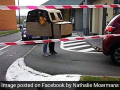 Viral: Mother, Daughter 'Drive' Cardboard Car To McDonald's Drive-Thru