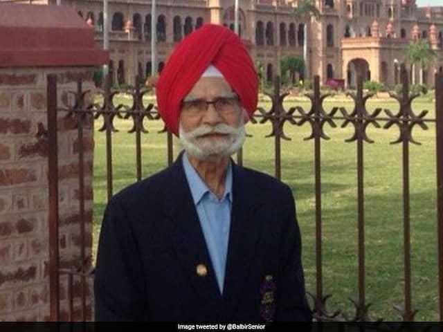 Balbir Singh Sr, Hockey Legend, Dies Aged 96