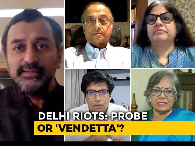 Video : Delhi Violence: 'Political Probe' Amid Pandemic?