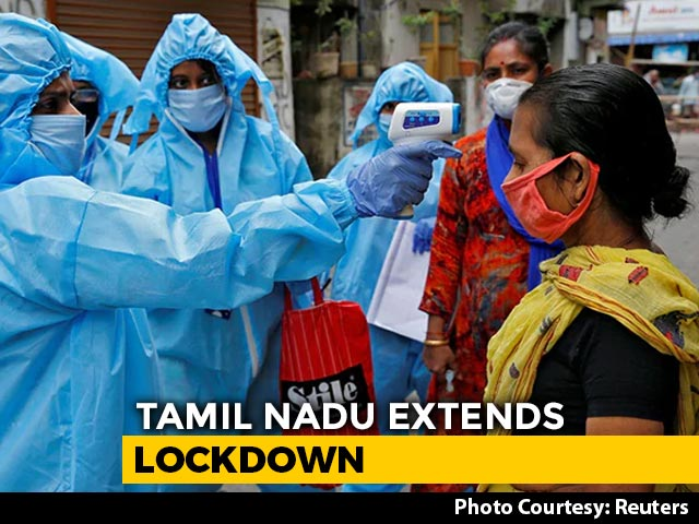 Video : Tamil Nadu Extends Lockdown Till May 31, Easing Of Curbs In 25 Districts