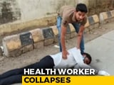 Video : Madhya Pradesh Health Worker Collapses In Heat, No Help For 25 Minutes