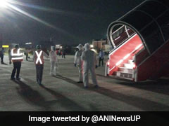 Air India Flight Carrying 182 Stranded Indians From Sharjah Lands In Lucknow