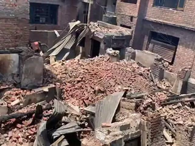 Video: Raging Gunbattle In Srinagar Leaves Trail Of Destruction, Dozens Homeless