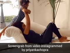 प्रियंका चोपड़ा ने बच्ची को उठाकर की एक्सरसाइज, Video शेयर कर बोलीं- जिम नहीं तो, कोई प्रॉब्लम...