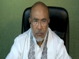 "Video : Manipur Chief Minister's ""Big Worry"" Amid The Coronavirus Crisis"