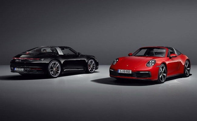 The Porsche 911 Targa will be offered in two variants- Targa 4 and Targa 4S.