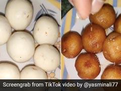 लड़की ने मिनटों में बनाए ब्रेड के गुलाब जामुन, TikTok पर 7 करोड़ से ज्यादा बार देखा गया Video