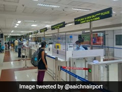 """No Trolleys, Glass Shield Counters In Chennai Airport's """"Touch Free"""" Plan"""