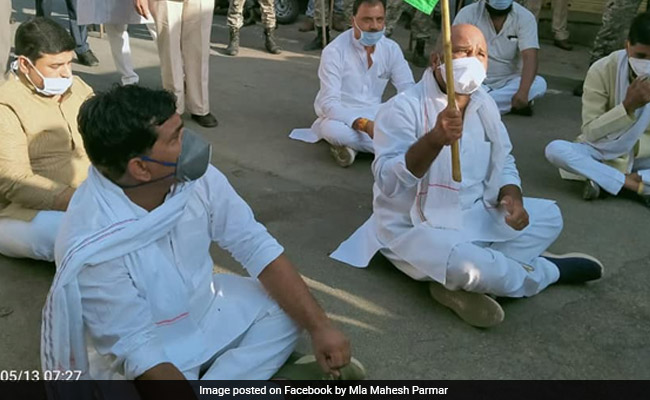 2 Congress MLAs Arrested For Holding Foot March In Madhya Pradesh
