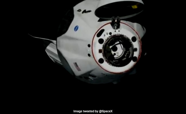 SpaceX Crew Dragon Undocks From Space Station For Return To Earth
