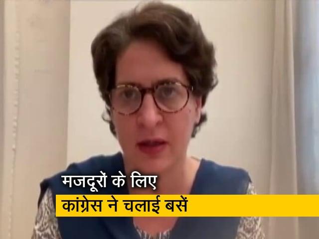 Videos : प्रवासी मजदूरों को घर पहुंचाने के लिए अलवर से उत्तर प्रदेश के लिए कांग्रेस ने चलाई बसें