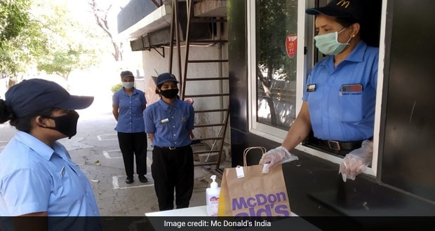 McDonald's Starts Contact-Less Take-Out Services In West And South India, Details Inside!