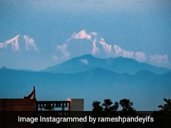 Snow-Capped Himalayan Peaks Seen From Saharanpur. Pics Are Viral